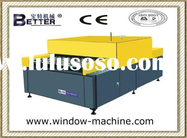 (Insulated glass machinery) glass heated and roller pressing machine