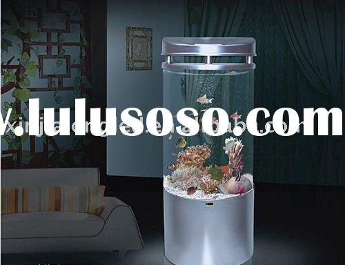 Acrylic cylinder tank acrylic cylinder tank manufacturers for Cylindrical fish tank