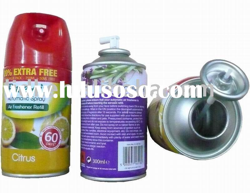 aerosol tin can 300ml pure air freshener refills