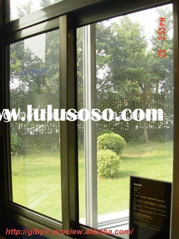 aluminum sliding window with screen