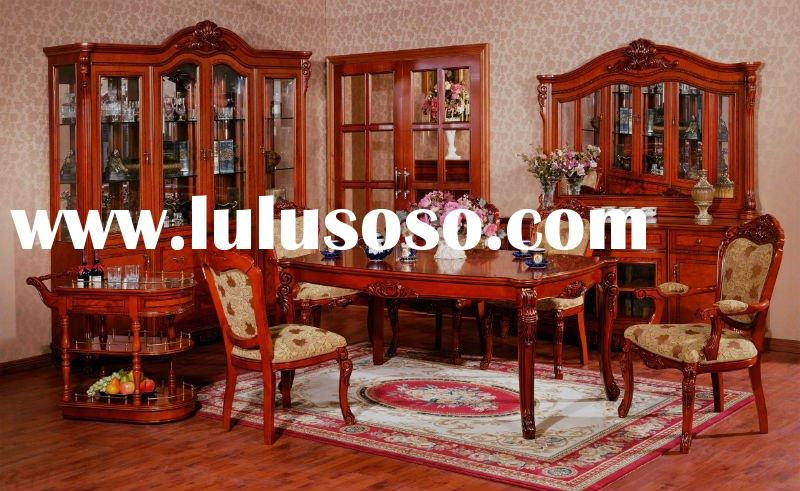 antique solid wood dining room set BX701