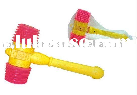 baby plastic hammer, plastic toy, music sound toy