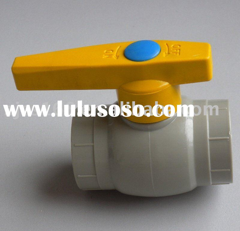 brass ball/check valve ppr pipe fitting