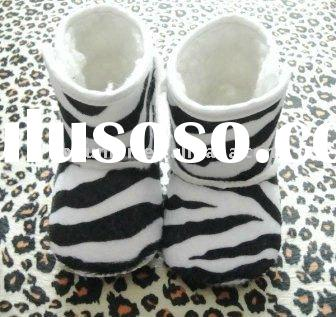 cool baby zebra boots
