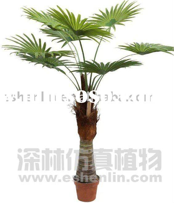 fake mini artificial palm tree