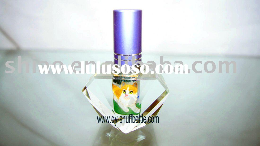 first rate k9 glass perfume bottles atomizer inside paint crystal images handicraft as scent bottle