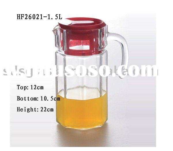 Glass Water Jug With Lid Glass Water Jug With Color