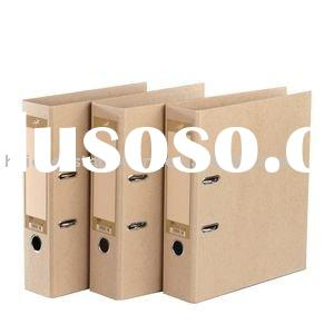 kraft paper lever arch file