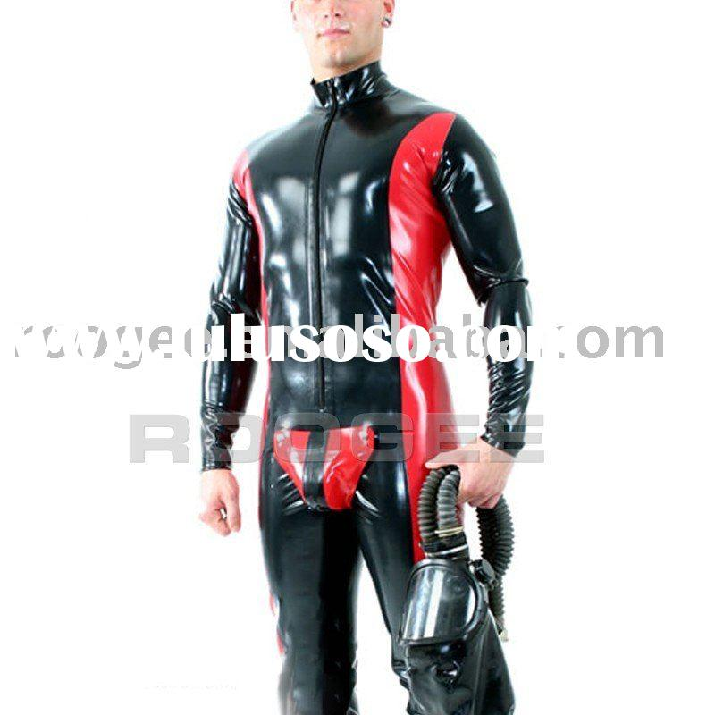 latex bodysuit for mens