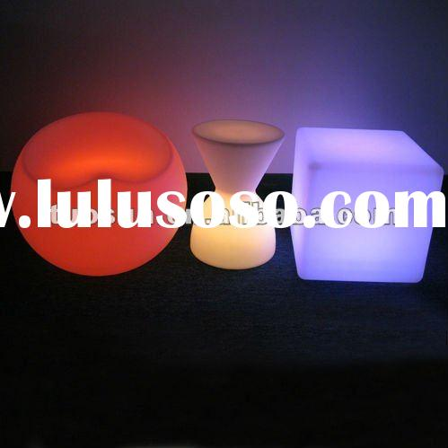 led remote control led fashion chair with multicolors