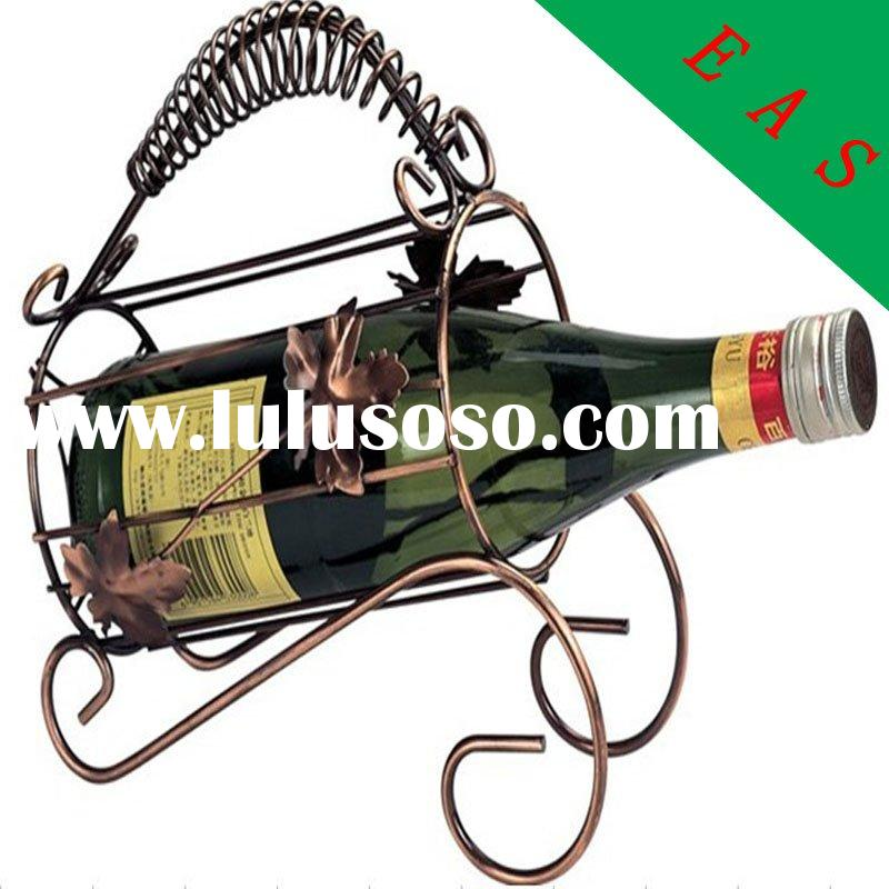 liquor display wine holder metal wine stand iron wine rack