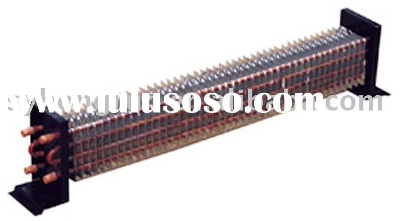made of galvanized steel, copper tubes,and aluminum fins evaporator coil