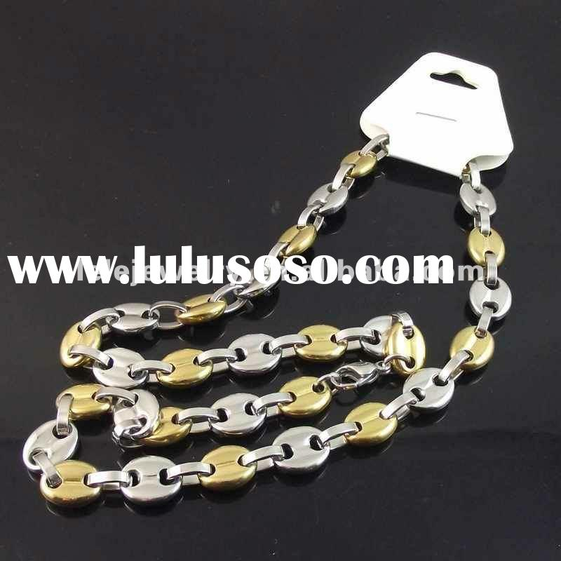 new style stainless steel body chain necklace jewelry for boys and girls
