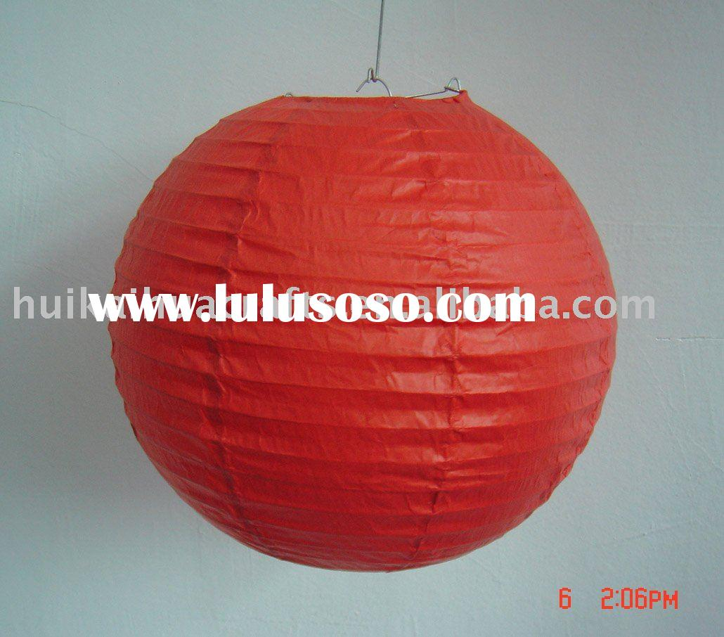 paper lamp shade/paper ball