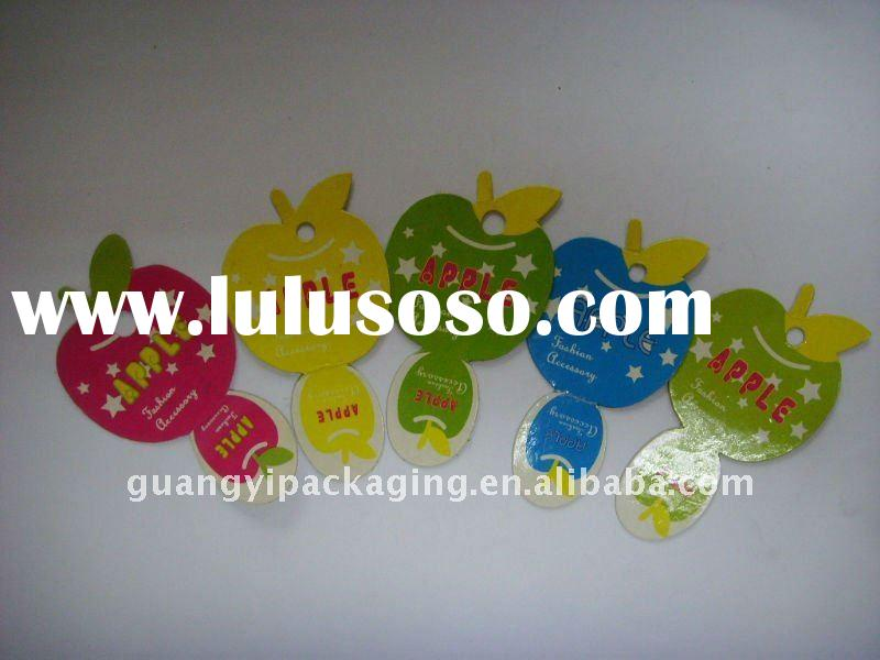 plastic earring display card,wholesale earring cards