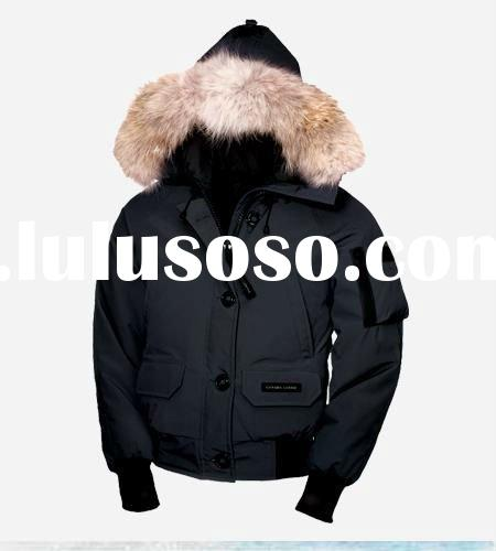 popular style goose down jacket for lady