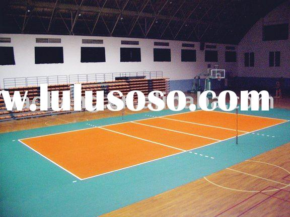 portable volleyball court floor for professional use