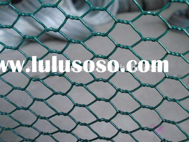 prompt delivery pvc coated hexagonal chicken wire mesh netting for animal cages