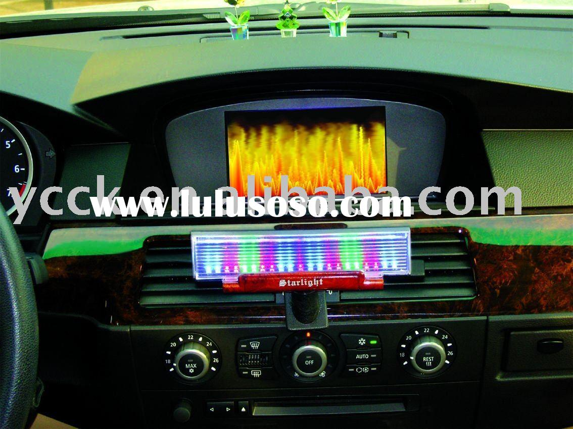 sound sensor light for car/auto sound control music light/ music lamp NO:SW-3048 3-color LED light