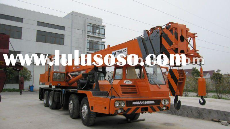 used hydraulic truck crane 30ton for sale in Dubai mobile crane