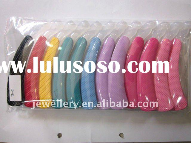 wholesale hair pins korean fashion accessories plastic barrettes