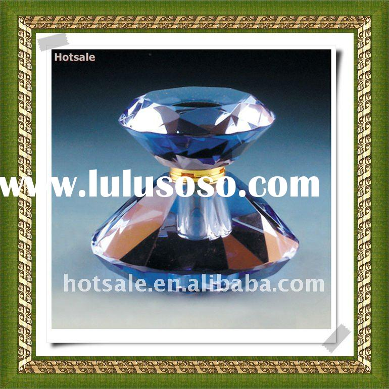 wholesale perfume glass bottles with pump&Crystal perfume bottle&empty perfume bottles&p