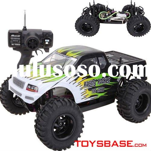 15 Levels Engine Gas Powered 1:10 Radio Remote Control Car