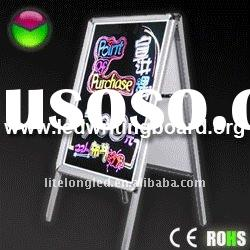 2011 New Arrival! Flashing LED Arylic A Board Poster Stand