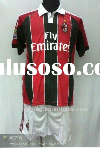 2012-2013 AC Milan football jerseys
