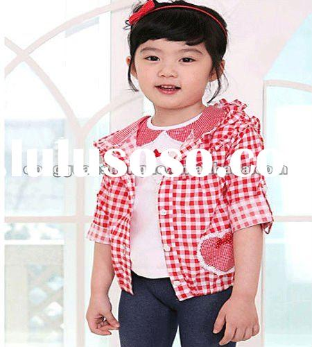2012 Kids tops fashion style cotton fabric China
