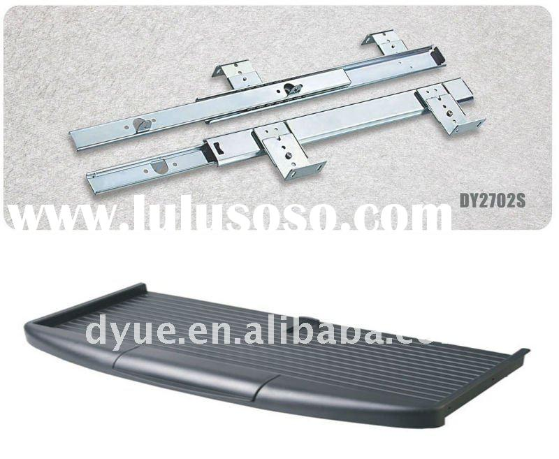 27mm computer Keyboard drawer slides with keyboard tray