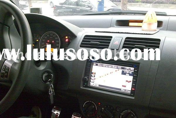 2 Din Car DVD Player for Special Car SUZUKI SWIFT with built-in GPS, Dual Zone, DVB-T, Steering Whee