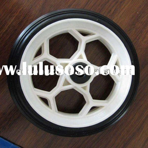 "4"" rubber wheels for toys"