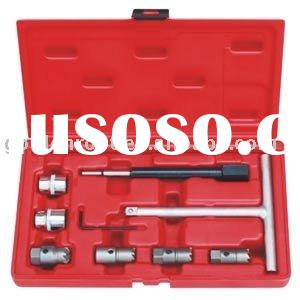 8pcs Diesel Injector Seat Cutter Set, Auto Repair Tools, Engine Repair Tool, Automotive Tools
