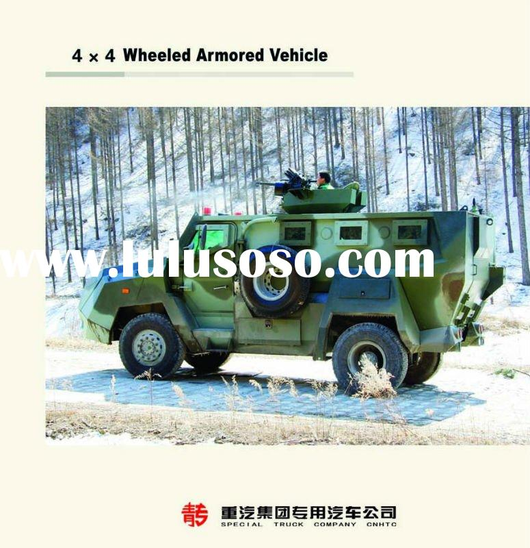 ALL WHEEL DRIVE TRUCK (WHEEL ARMORED VEHICLE)