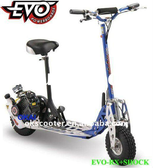 BIG OFFROAD WHEEL GAS SCOOTER (EVO-RX)
