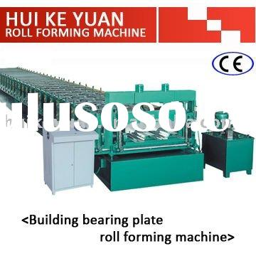 BUILDING BEARING PLATE ROLL FORMING MACHINE