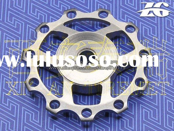 Bike Bicycle Ti Titanium Jockey Wheel Rear Derailleur Pulley Set 11T 12T