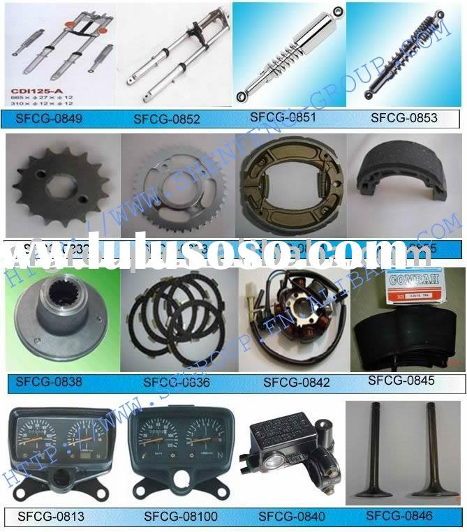 CG125 Motorcycle Parts (brake shoes,magnet coil,fuel cup,clutch plate)