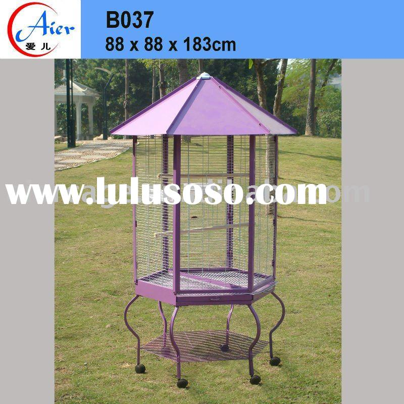 Cages, bird cages, parrot cage, Kiosk style parrot cage