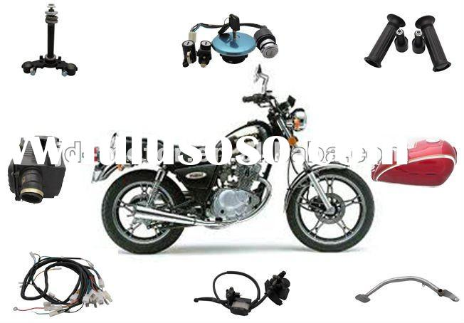 Chinese Motorcycle JinCheng GN125 Parts and Accessories