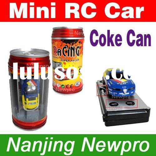 Coke Can Mini RC Radio Remote Control Micro Racing Car 8pcs/lot