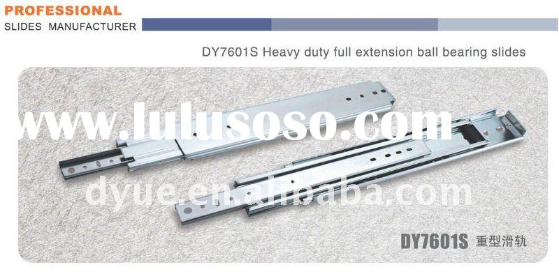 DY7601S Heavy duty full extension ball bearing slides