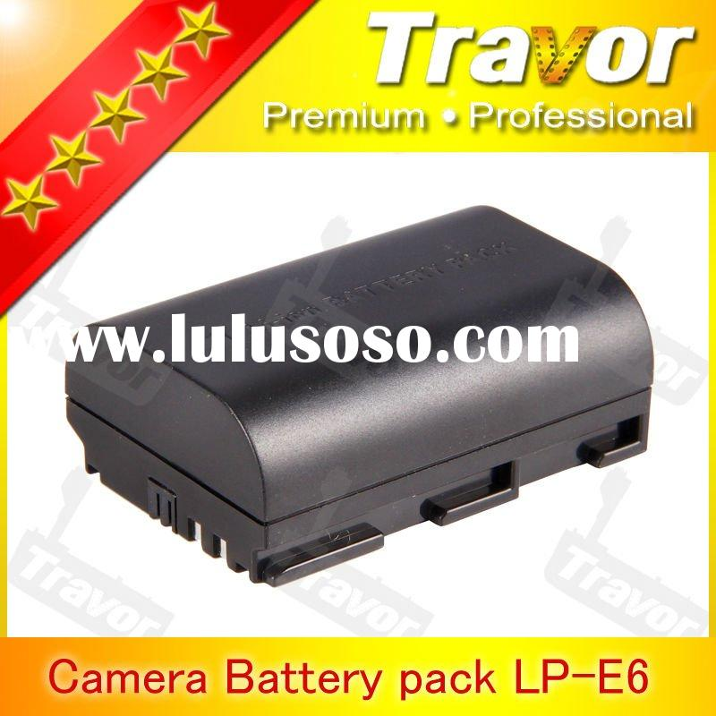 Digital Camera Battery Pack LP-E6 for Canon DSLR Camera