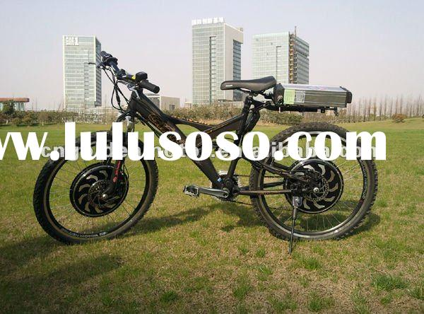Dual Driver! Magic Pie 3 Motor adopted! 48V 1500W Electric Bike ! The fastest Electric bicycle in th