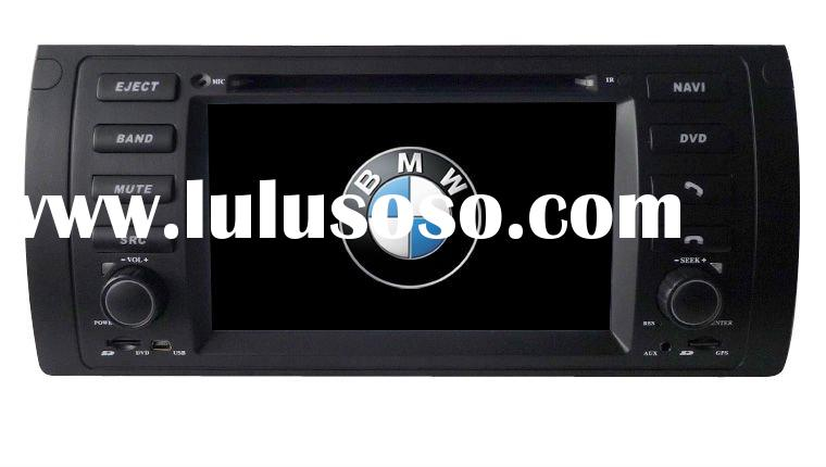 E39 Car DVD Player with GPS system,steering wheel control,air condition agreement