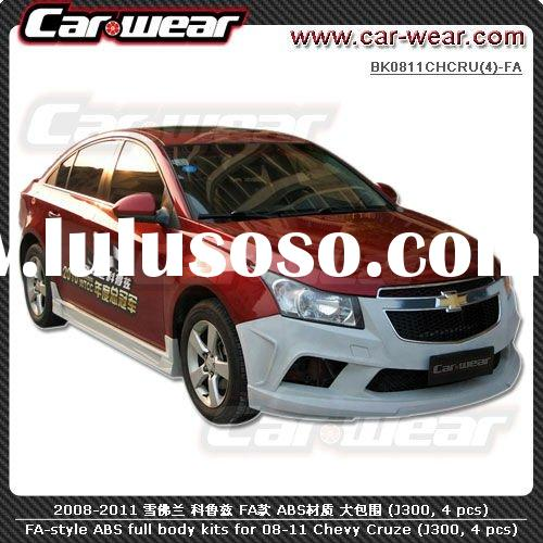 FA-style ABS full replacement body kits bodykits for 2008-2011 Chevrolet Chevy Cruze (J300, 4 pcs)