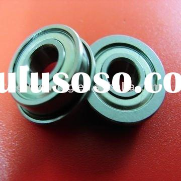 FR1JMiniature Ball Bearing, with flange, wide inner rings