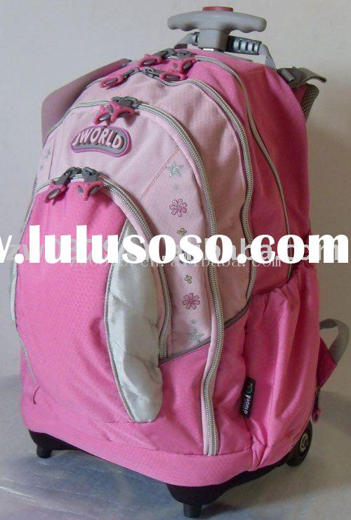 Fashion Cartoon Picture of School Bag with Roller for Teenagers-LGB 59