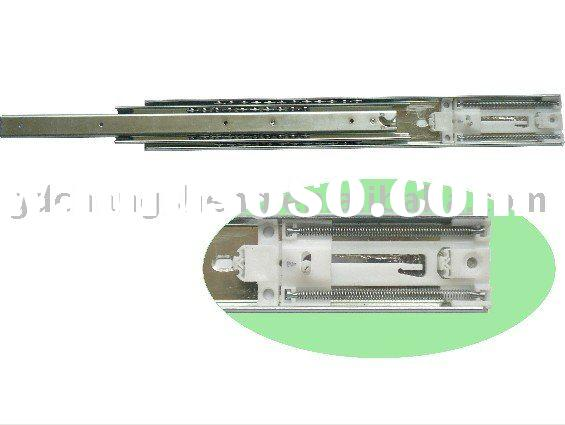 Foshan manufacturer sell 53mm 3-fold #3053 full extension ball bearing telescopic heavy duty drawer